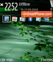 Green 07 tema screenshot