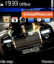 Rolls royce es el tema de pantalla