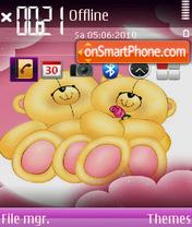 Love Cartoon theme screenshot