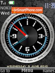 Clock 2010 theme screenshot