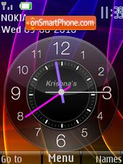 Color Clock theme screenshot