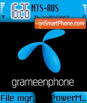GrameenPhone theme screenshot