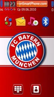 Bayern fc theme screenshot