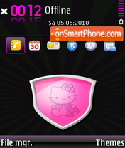 Hello Kitty 37 es el tema de pantalla