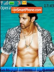 Hrithik Roshan theme screenshot