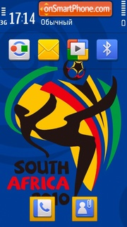 Fifa Worldcup 2010 theme screenshot