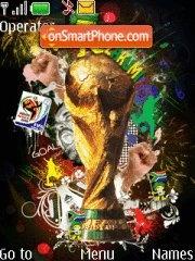 Fifa World cup 2010 es el tema de pantalla