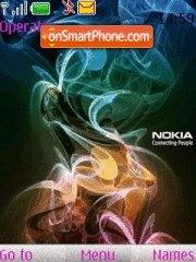 Logo Nokia es el tema de pantalla