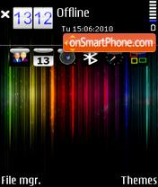 Spectrum by Altvic es el tema de pantalla