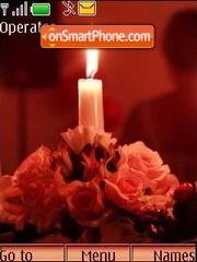 Evening, candles... theme screenshot