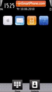 Capture d'écran Iphone 14 thème