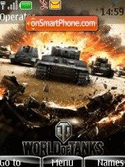 World of Tanks theme screenshot