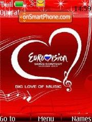 Eurovision Song Contest es el tema de pantalla