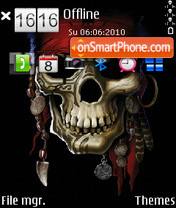 Pirate 01 theme screenshot