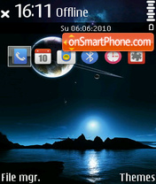 Silent Sky 01 es el tema de pantalla
