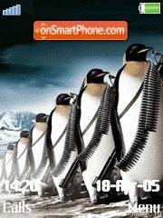 Pinguins es el tema de pantalla