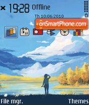 Outlook es el tema de pantalla