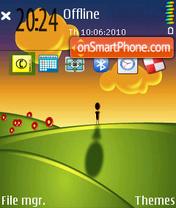 Sunset 09 es el tema de pantalla