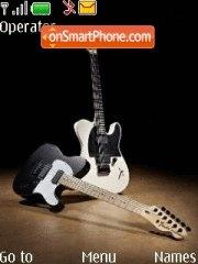 Fender Telecaster theme screenshot