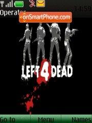 Left4dead es el tema de pantalla