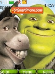 Shrek forever 4 tema screenshot