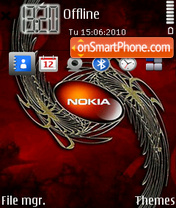 Nokia Next theme screenshot