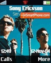 Depeche Mode theme screenshot