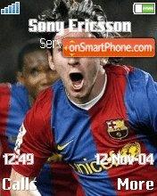 Messi Lionel es el tema de pantalla