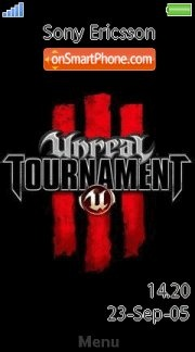 Unreal Tournament 02 es el tema de pantalla