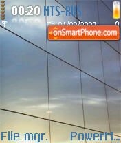 Glass Theme theme screenshot