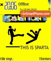 This is sparta 02 es el tema de pantalla