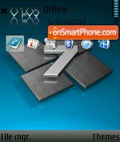 Windows 7 Blue 01 theme screenshot
