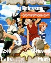 One Piece -Dark- es el tema de pantalla