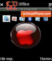 RedApple tema screenshot