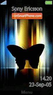 Neon_Butterfly es el tema de pantalla