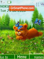 Bear by djgurza (swf 2.0) es el tema de pantalla
