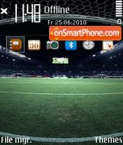 World cup 2012 es el tema de pantalla