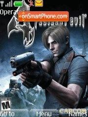 Resident Evi 4 theme screenshot
