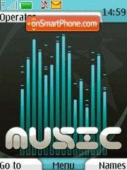 Music With Tone es el tema de pantalla