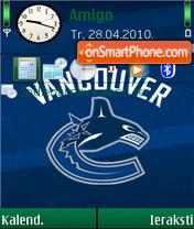 Vancouver Canucks 02 es el tema de pantalla