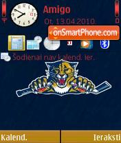 Florida Panthers theme screenshot