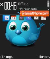 Twitter es el tema de pantalla