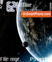 My Earth es el tema de pantalla