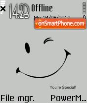 Special 01 es el tema de pantalla