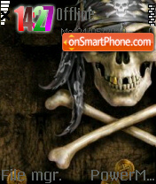 Skull 06 es el tema de pantalla