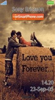 Love You 11 es el tema de pantalla