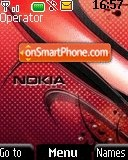 Nokia Carbon tema screenshot