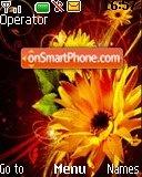 Flora Art theme screenshot