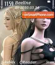 Shaiya World theme screenshot
