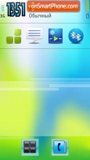 Blur es el tema de pantalla